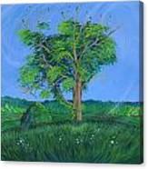 Pleasant Township Tree Canvas Print