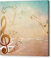 Please Dont Stop The Music Canvas Print