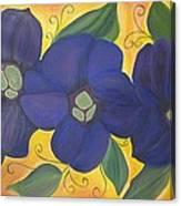 Please Me Purple Passion Canvas Print