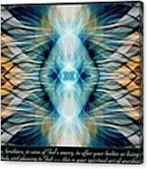 Pleasing To God Canvas Print