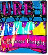 Pleasure Island Celebrate Tonight Canvas Print
