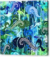 Plenty Of Fish In The Sea 1 Canvas Print