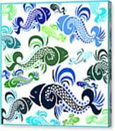 Plenty Of Fish In The Sea 4 Canvas Print