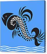 Plenty Of Fish In The Sea 4 Fish Canvas Print