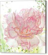 Plenty Of Joy And Sun. Natural Watercolor. Touch Of Japanese Style Canvas Print