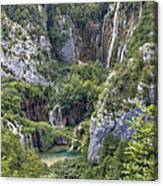 Plitvice Lakes - Croatia Canvas Print