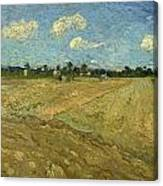 Ploughed Fields - The Furrows Canvas Print