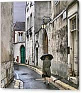 Pluie A Chartres - 1 Canvas Print