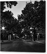 Plum Street To Franklin Square Canvas Print