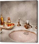 Plumber - First Thing In The Morning Canvas Print