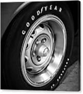 Plymouth Cuda Rallye Wheel Canvas Print