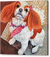 P'nut Fur Angel In Heaven Canvas Print