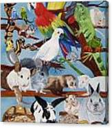Pocket Pets Canvas Print