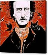 Poe Poe Canvas Print