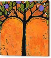 Poe Tree Art Canvas Print