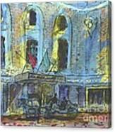Poinsett Westin Hotek Canvas Print