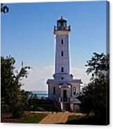 Point Abino Lighthouse Path Canvas Print