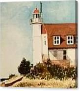 Point Betsie Lighthouse Canvas Print