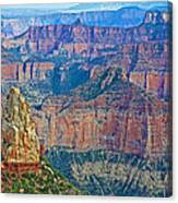 Point Imperial At 8803 Feet On North Rim Of Grand Canyon National Park-arizona   Canvas Print