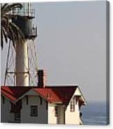 Point Loma California Lighthouse Canvas Print