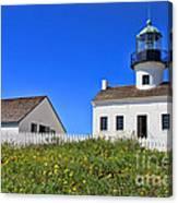 Point Loma Lighthouse By Diana Sainz Canvas Print