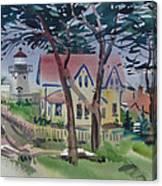 Point Montara Light Canvas Print