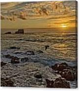 Point Piedras Blancas Sunset Variation Canvas Print