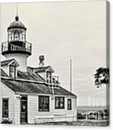Point Pinos Lighthouse By Diana Sainz Canvas Print