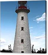 Point Prim Lighthouse 3 Canvas Print