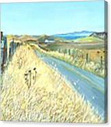 Point Reyes Country Road Canvas Print