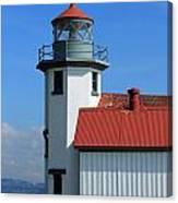 Point Robinson Light House Canvas Print