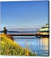 Point Ruston Ship Canvas Print