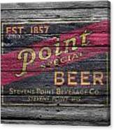Point Special Beer Canvas Print
