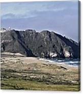 Point Sur And Lighthouse Canvas Print