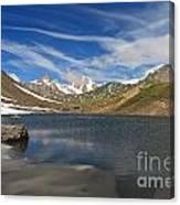 Pointe Rousse Lake Canvas Print