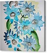 Pointy Petals Canvas Print