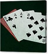 Poker Hands - Dead Man's Hand Canvas Print