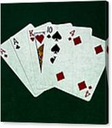 Poker Hands - One Pair 1 Canvas Print
