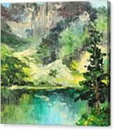 Poland - Morskie Oko Canvas Print