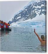 Polar Dip Canvas Print