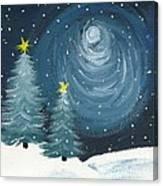 Polar Vortex 2014 Canvas Print