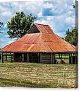Pole Barn Canvas Print