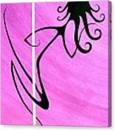 Pole Dancer Canvas Print
