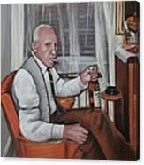 Polish Grandfather Canvas Print