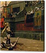 Pollice Verso Canvas Print
