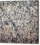 Pollock's Number 1 -- 1950 -- Lavender Mist Canvas Print