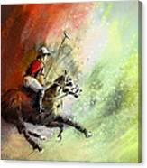 Polo 01 Canvas Print