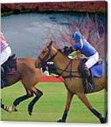 Polo Match Canvas Print
