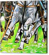 Polo Stampede Canvas Print