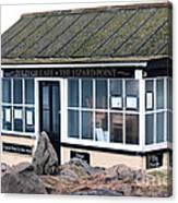 Polpeor Cafe The Lizard Point Canvas Print
